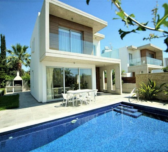 Brand new 3 bedroom villa for rent in Coral Bay
