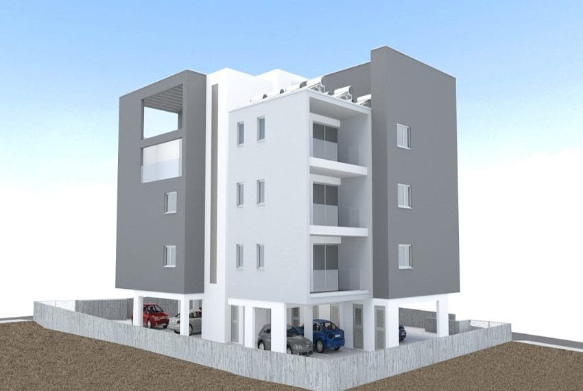 Brand new 3 bed flats for sale Mesa Geitonia, Limassol