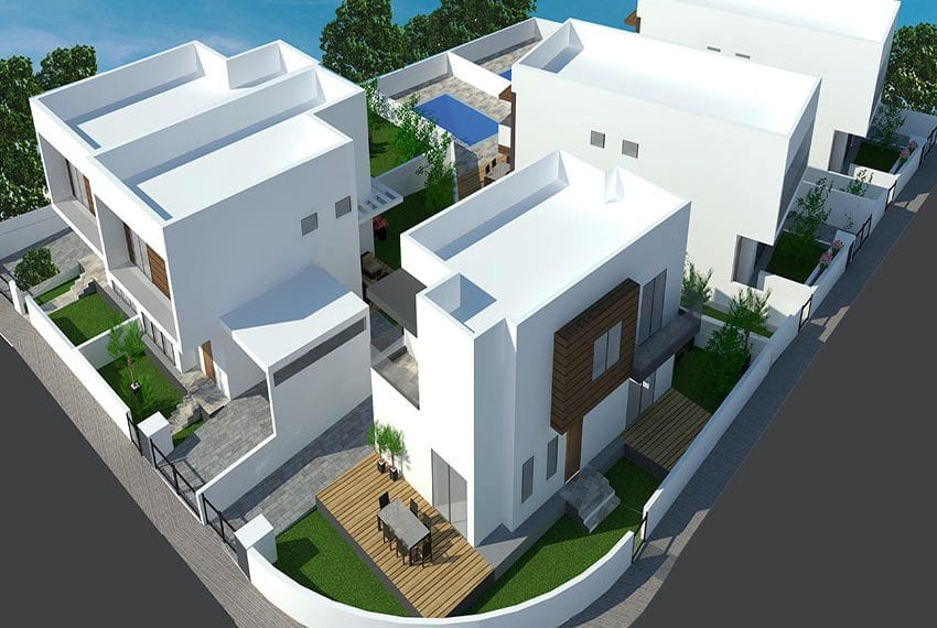 For sale villa with private pool Paramythia, Limassol
