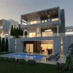 Luxury 6 bedroom villas for sale in Limassol, Mouttagiaka