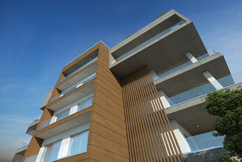 Modern residential 3 bed apartments for sale in Limassol