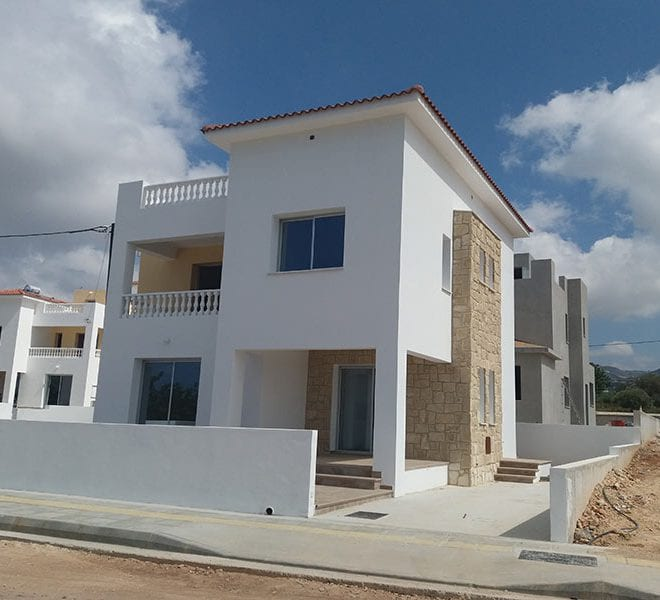 Permanent residency Cyprus villas for sale