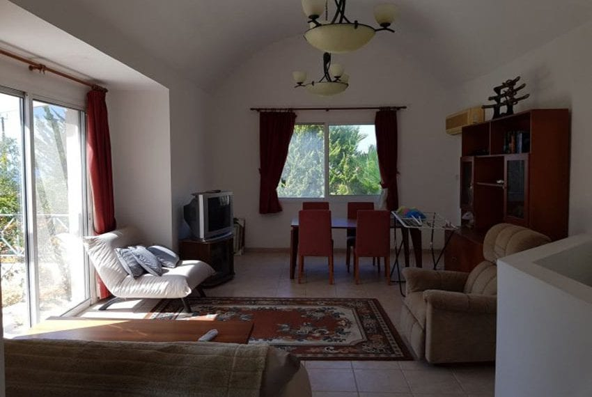 Corner townhouse for sale in Kissonerga, Paphos