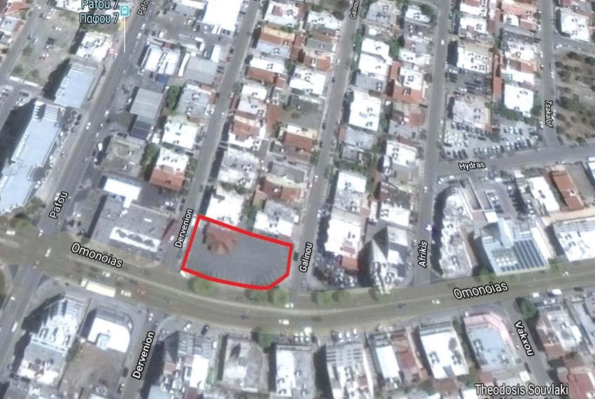 Plot of land for sale in Limassol Omonia03