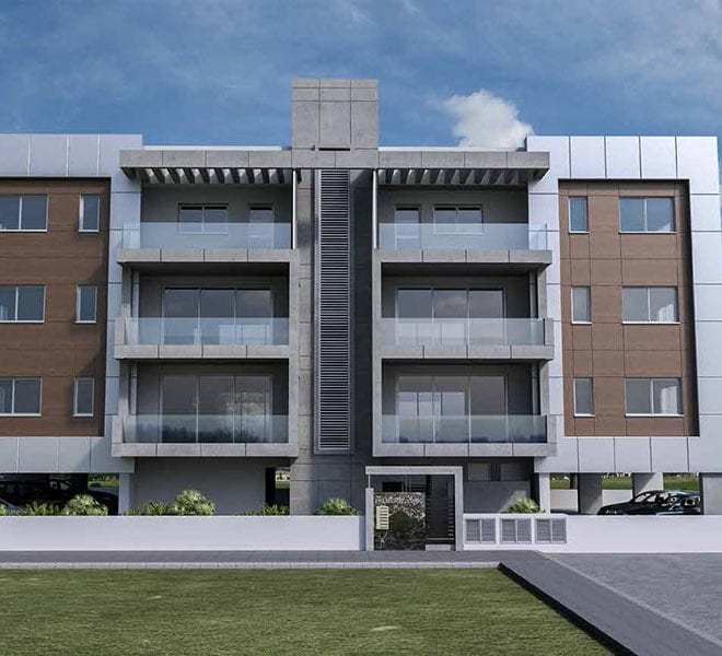 2 bed residential apartment Mesa Getionia Limassol