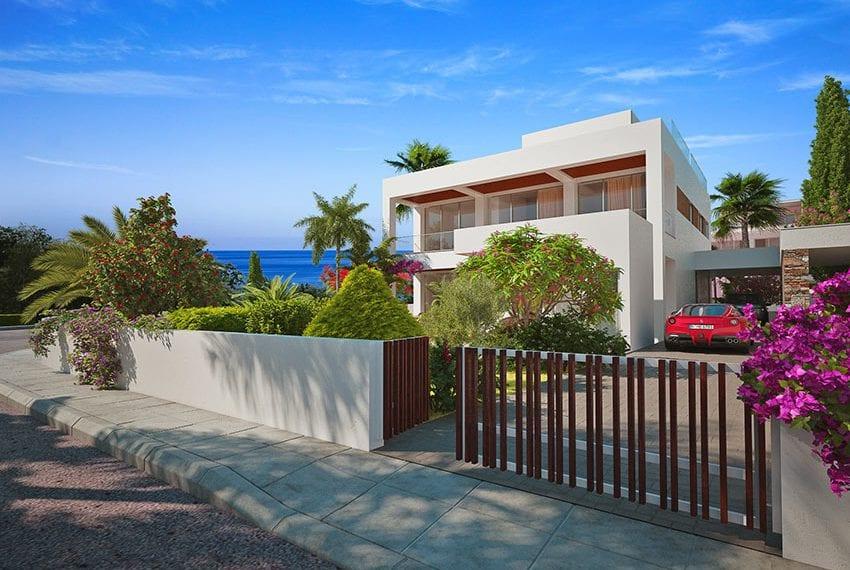 Deluxe villas for sale near beach in Paphos