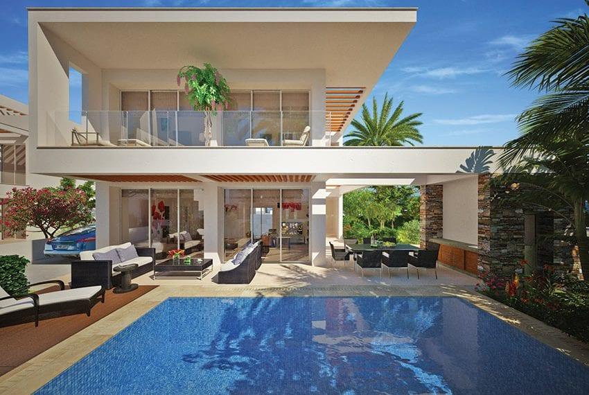 Deluxe villas for sale Yeroskipou beach front in Paphos