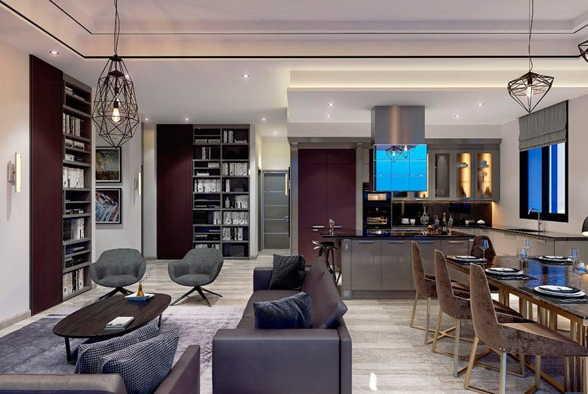Luxury residential 2 bed apartments for sale Limassol
