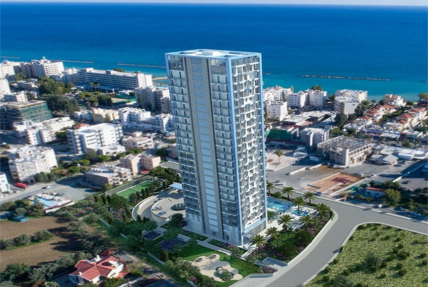 Luxury residential 3 bed apartments for sale Limassol