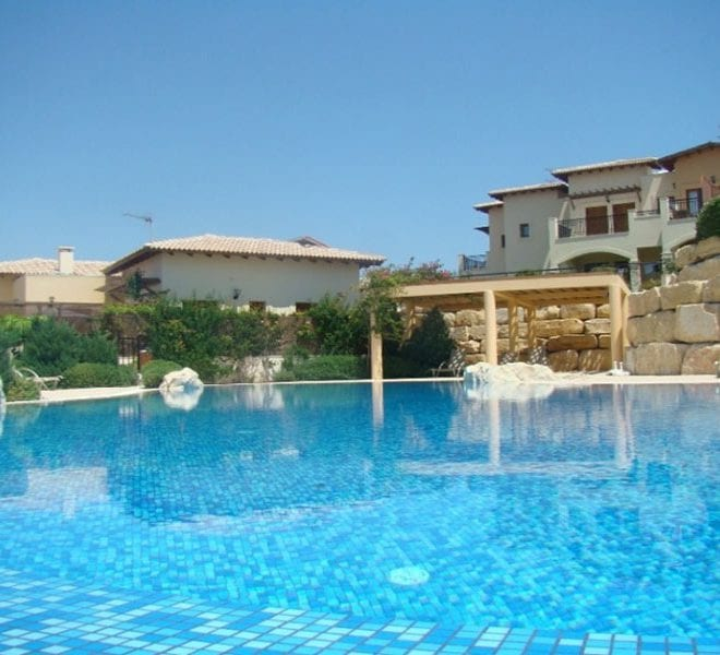 Zephyros village Aphrodite hills 2 bed apartment