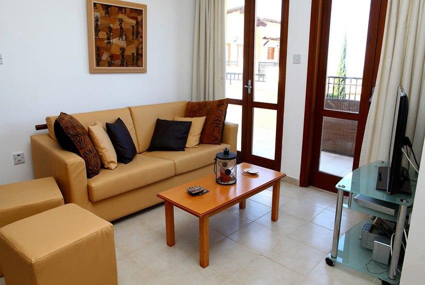 Zephyros village Aphrodite hills 2 bed apartment