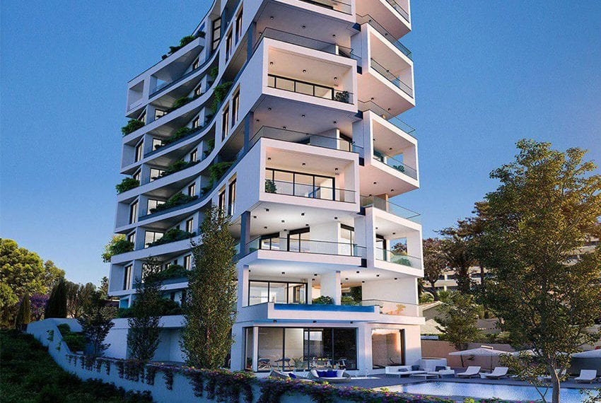 Luxury beach front apartments for sale Limassol