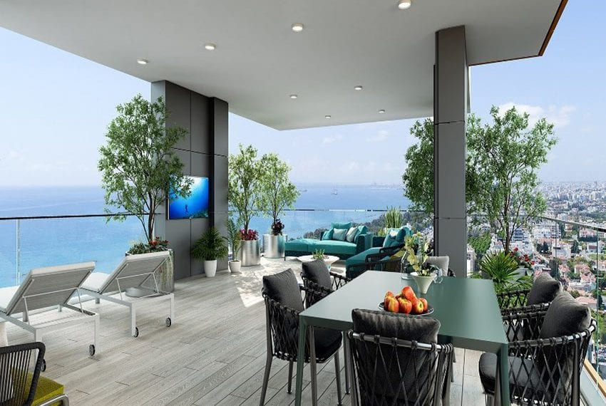 Luxury modern 3 bed flats near beach in Limassol