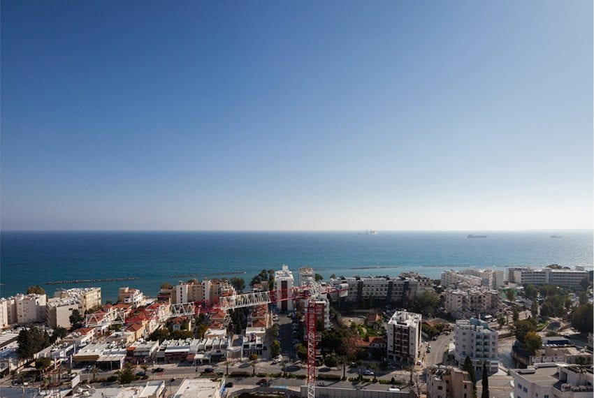 Modern 4 bed flats for sale with roof garden Limassol