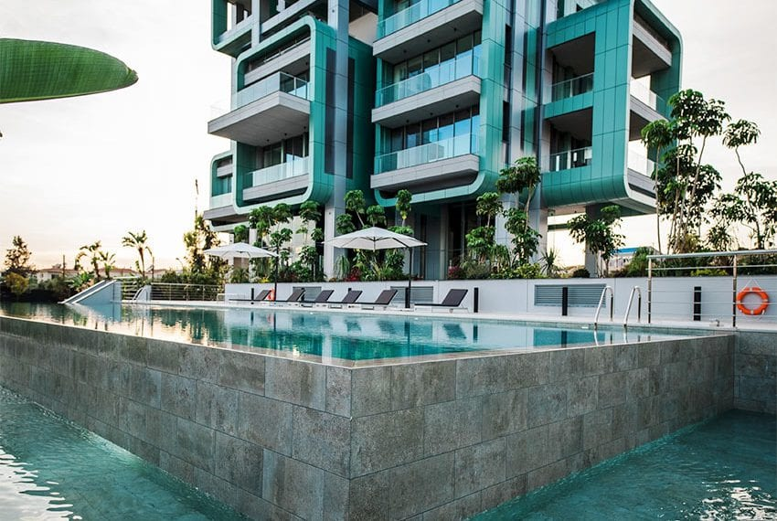 Penthouse apartment with roof garden Limassol