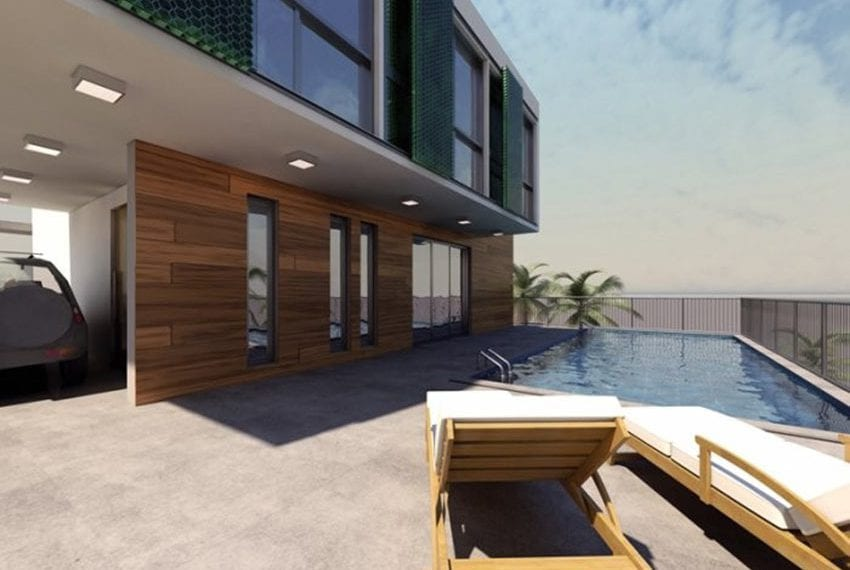 Plot of land with permit for luxury villa Kissonerga