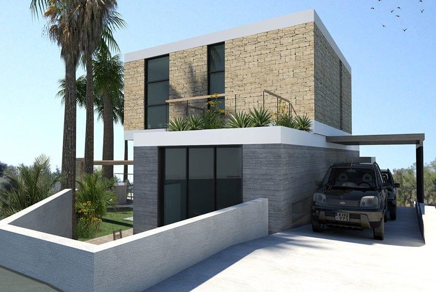 Contemporary 3 bedroom villa for sale in Cyprus