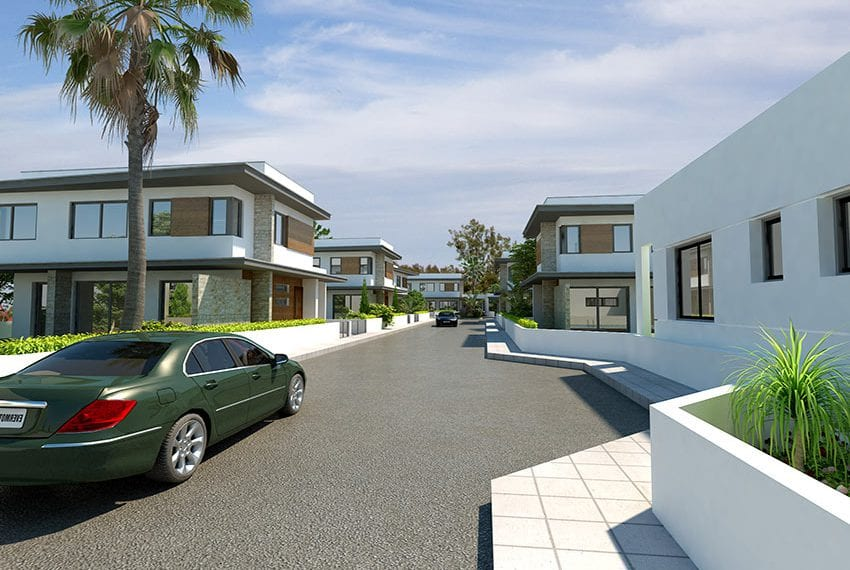 Modern bungalow for sale in Larnaka