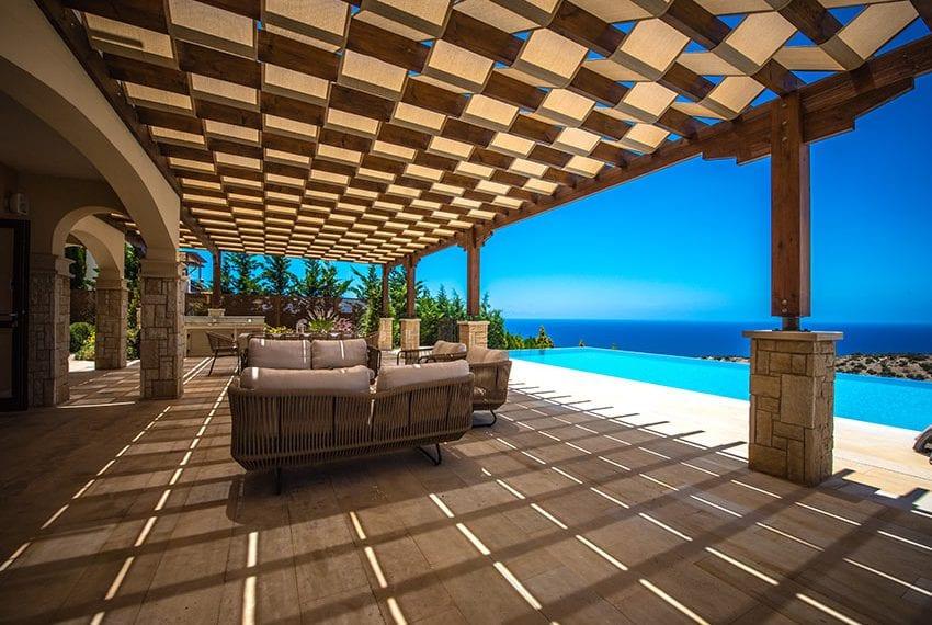 Aeneas Grand villa for sale Aphrodite Hills Cyprus