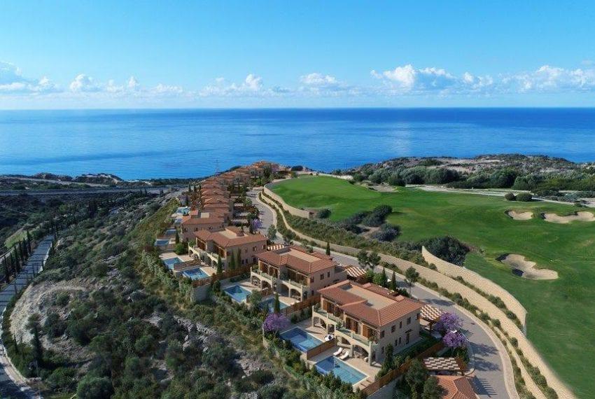 Villas for sale Aphrodite Hills golf resort Cyprus