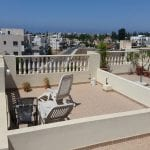 2 bed 2 bath top floor apartment Yeroskipou