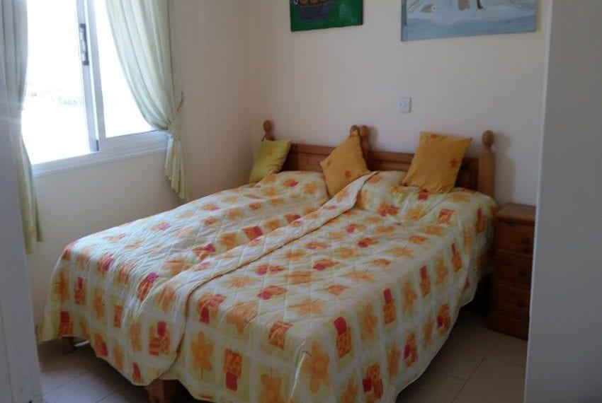 2 bed 2 bath top floor apartment Yeroskipou
