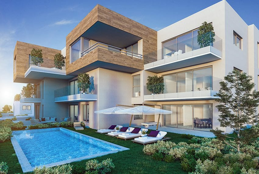 Luxury 2 bedroom apartments for sale Paralimni