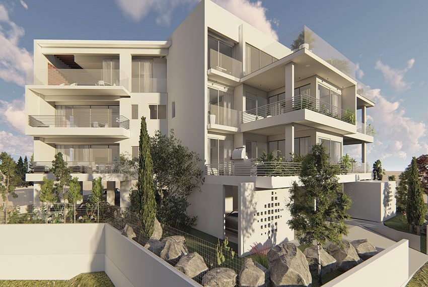 Modern apartments for sale in Konia Paphos
