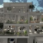 Modern 3 bed apartments for sale in Konia Paphos
