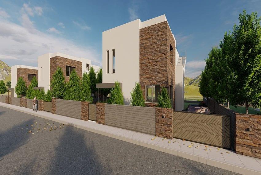 Chloraka sea view villas for sale Cyprus