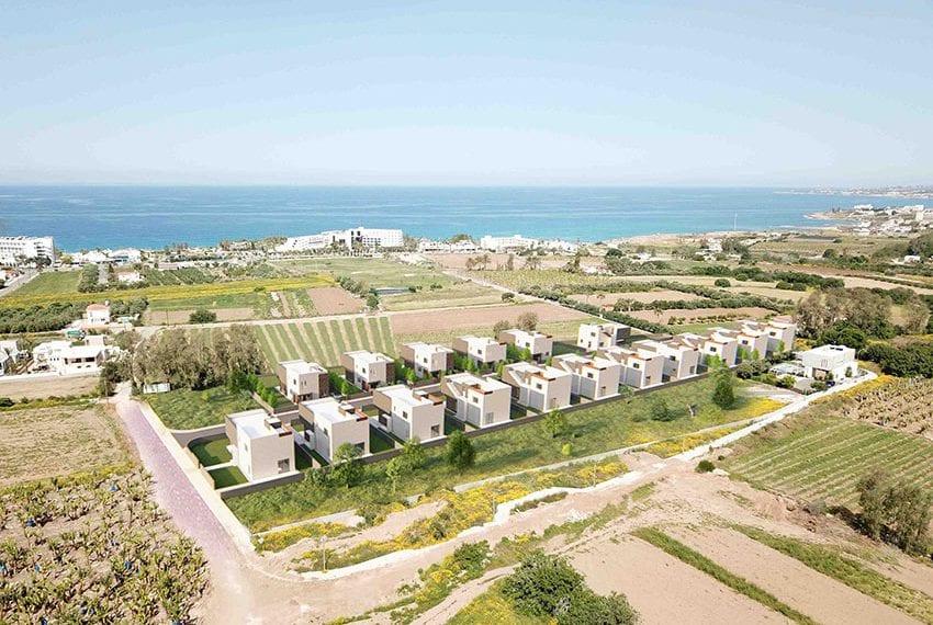Chloraka sea view villas for sale close to beach
