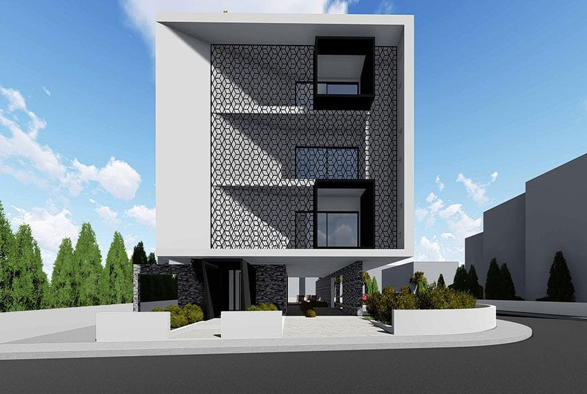 Modern residential building for sale in Paphos Cyprus