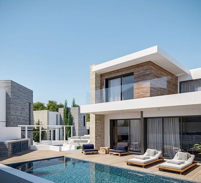 Luxury villas for sale in Chloraka Paphos