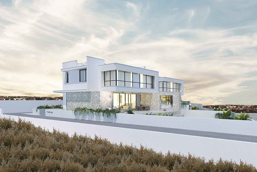 Modern villas for sale in Paralimni Cyprus