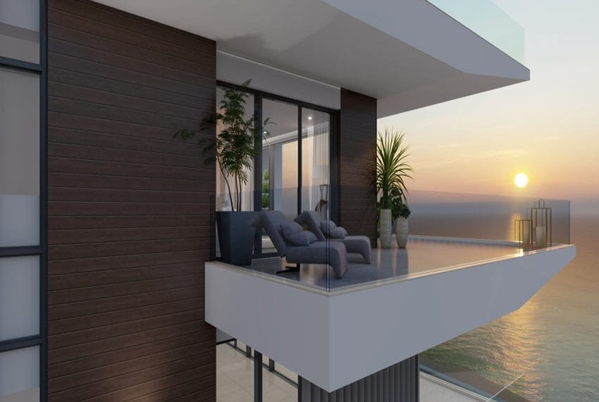 Paphos sea front luxury apartments for sale