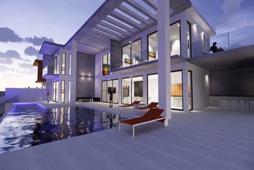 Luxury villa for sale Peyia hillside 11