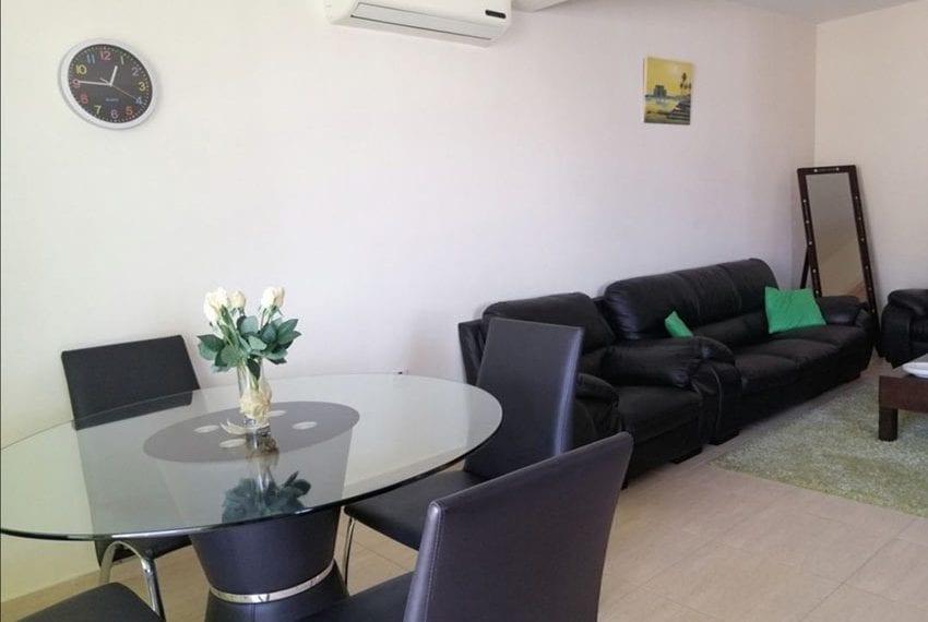 Top floor 2 bedroom apartment for sale in Peyia