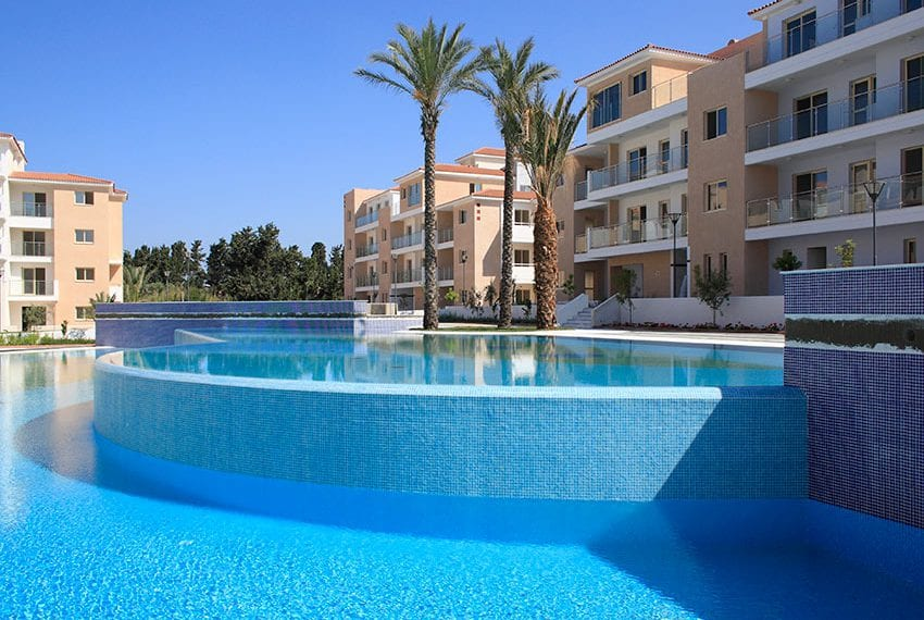 Elisia Park Resort apartments for sale Pafos