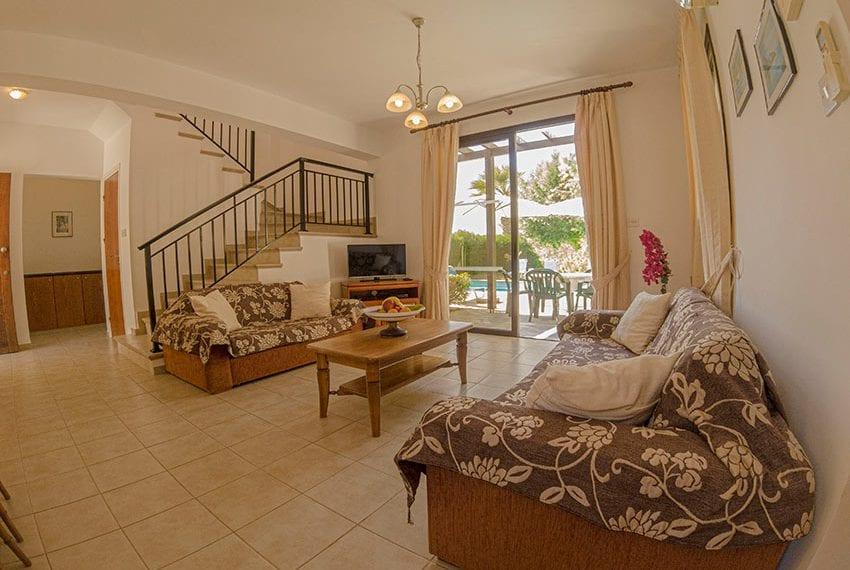Villa for sale in Kissonerga private pool sea views16