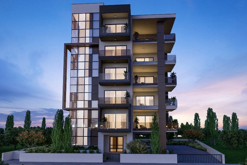 Modern residential flats for sale in Limassol01