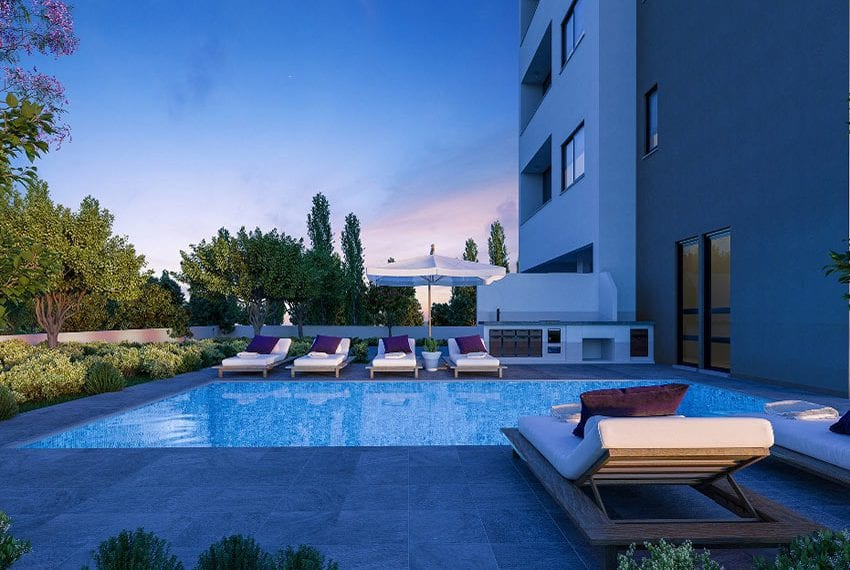 Modern residential flats for sale in Limassol10