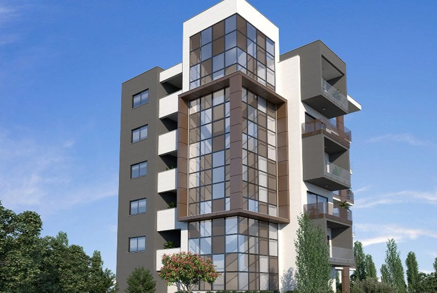 Modern residential flats for sale in Limassol11
