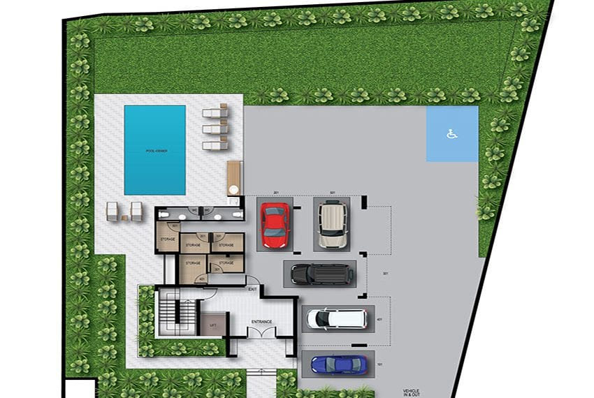 Modern residential flats for sale in Limassol14