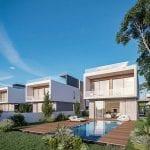 Beach front villas for sale in Kissonerga Pafos