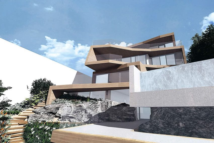 Ultra modern villa for sale Coral bay beach front