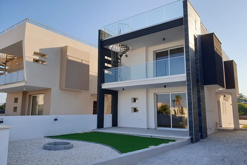Modern villas for sale in Chloraka Pafos02