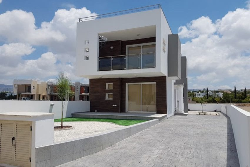 Modern villas for sale in Chloraka Pafos06