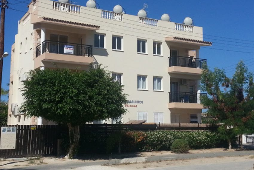 Bellona gardens Pafos 1 bed apartment for sale01