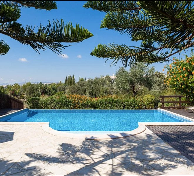 Aphrodite hills superior villa for rent long term