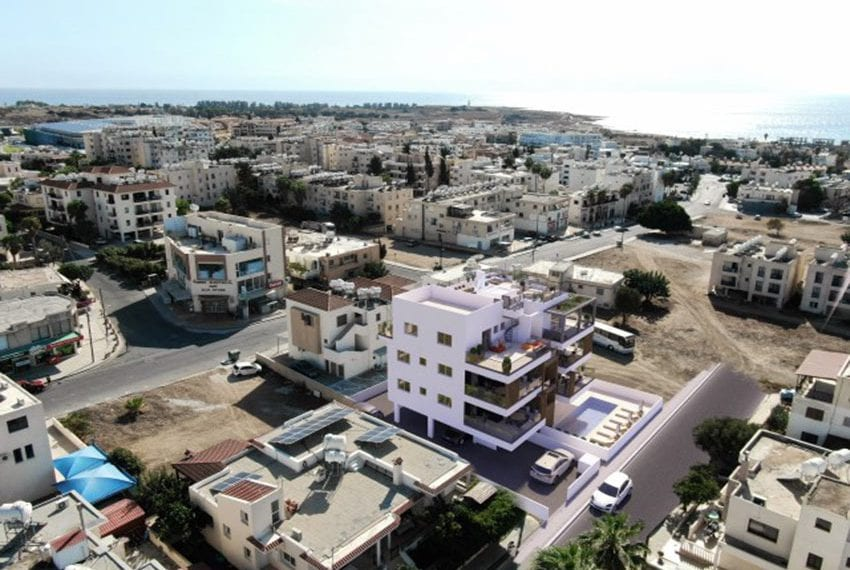 Modern apartments for sale near Pafos mall03